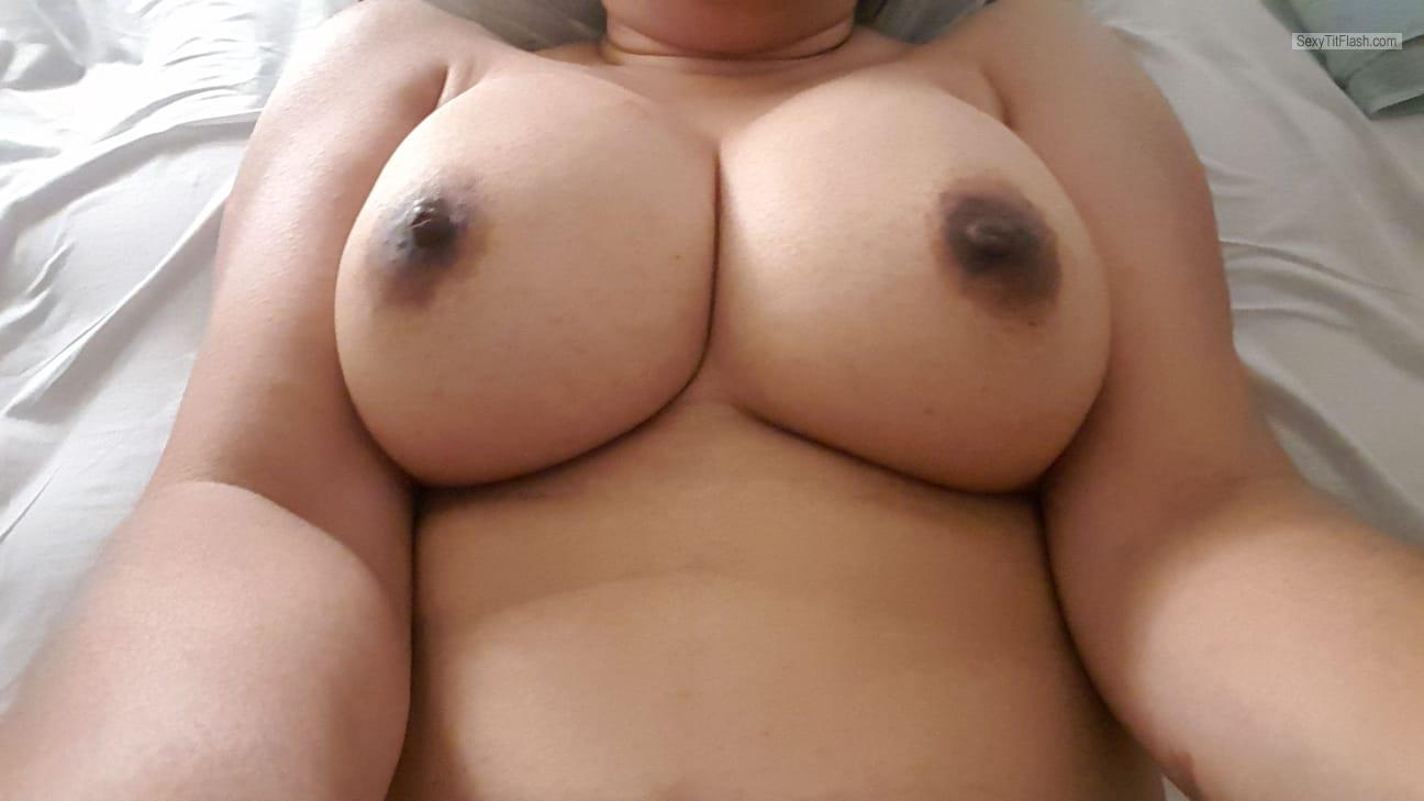 Tit Flash: My Big Tits (Selfie) - Asian from Singapore